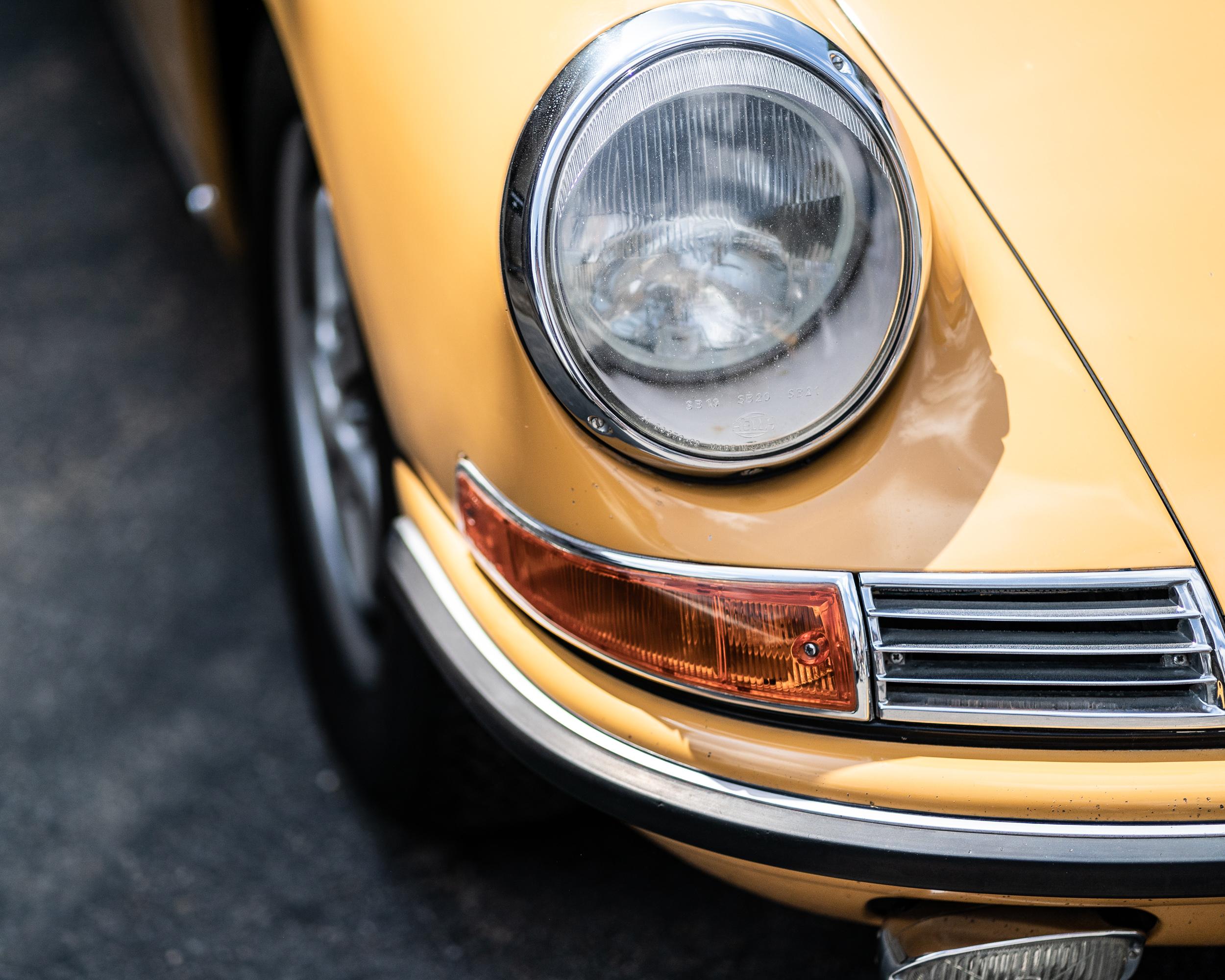 Classic 911 headlamp luftgekuhlt