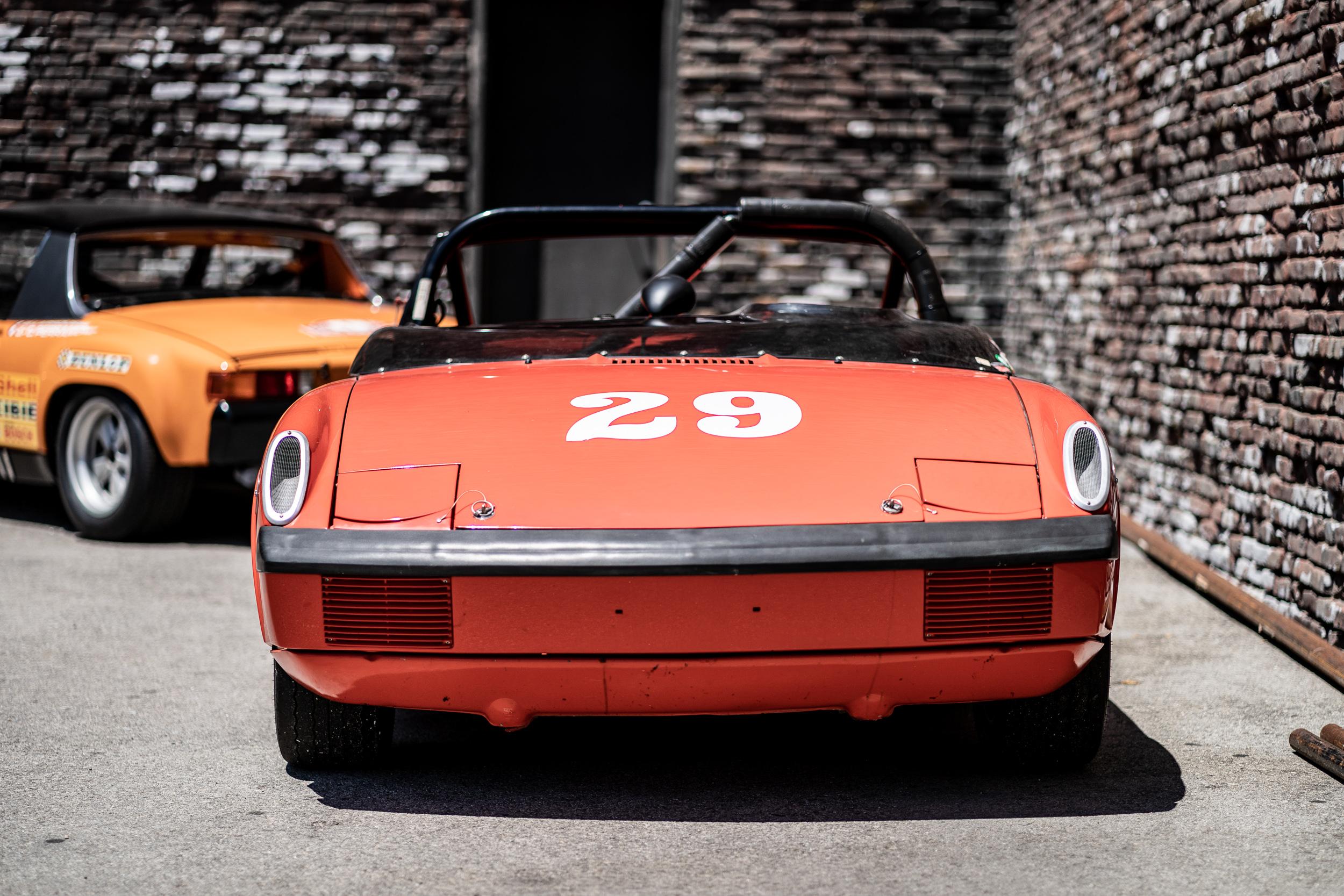914 porsche race car luft 6 universal studios backlot