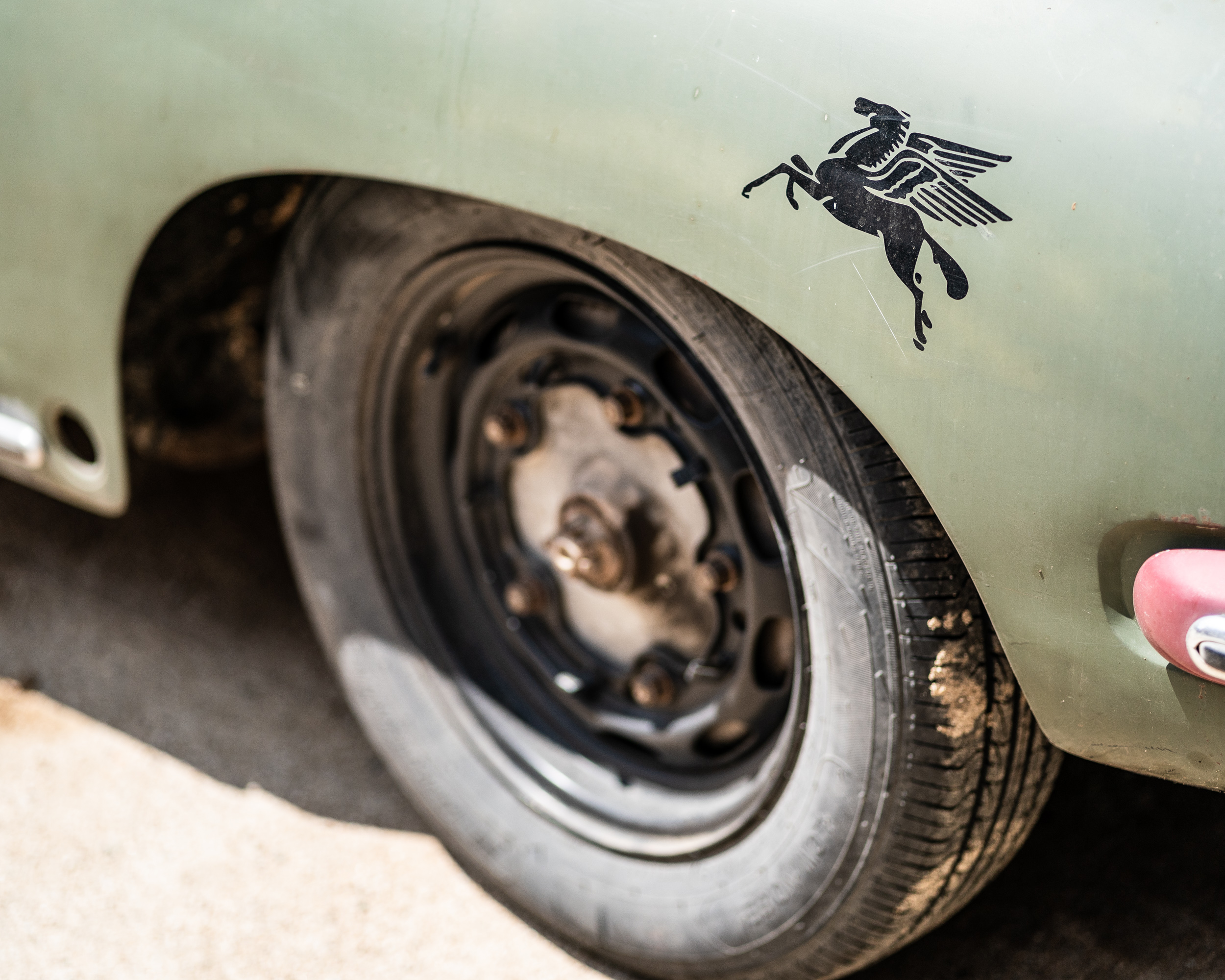 vintage rustic 356 porsche