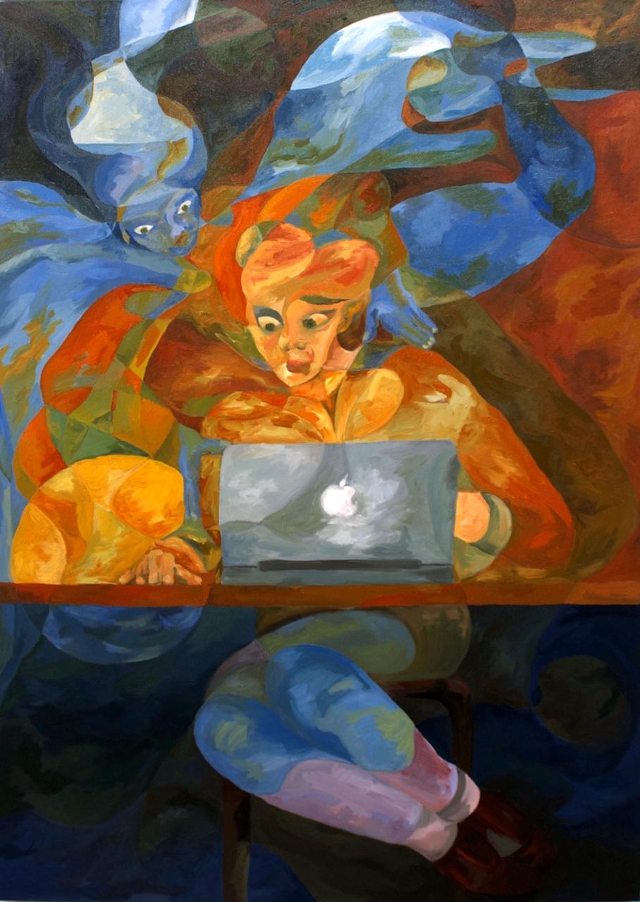 Working Late by Zvi Szir