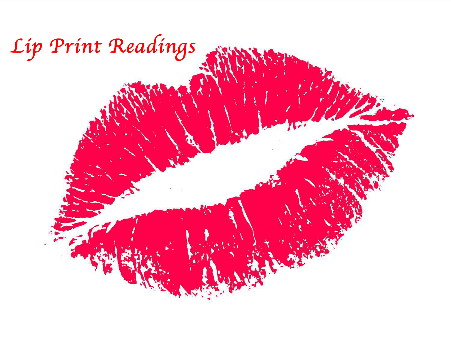 Lip Print Readings by Lady Elizabeth