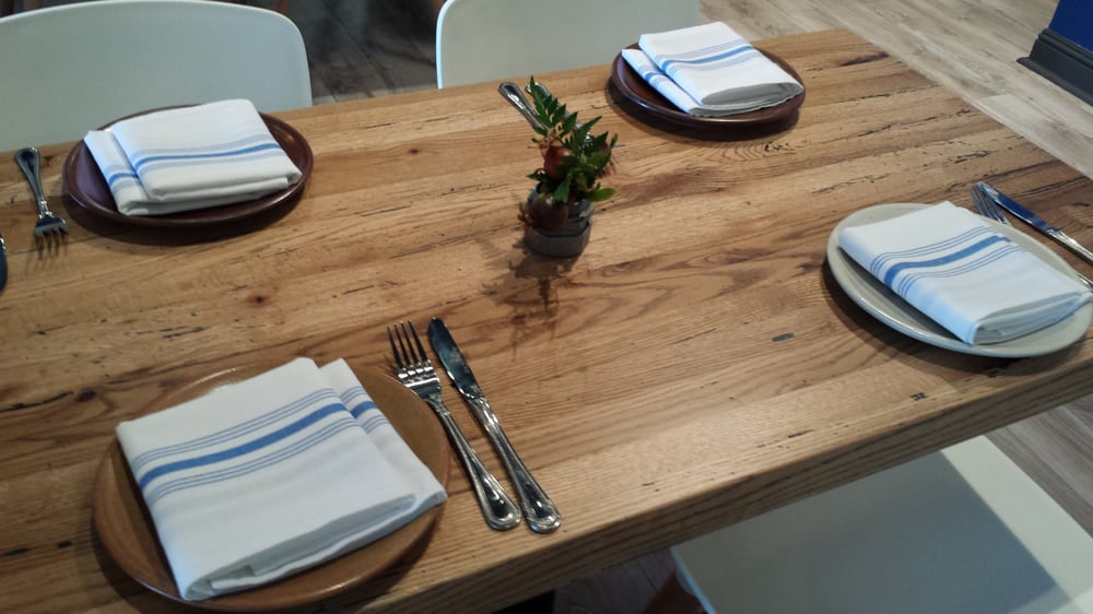 Table at Farmhouse Kitchen