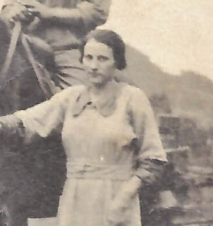 "Betty's grandmother, a ""real mountain woman."""