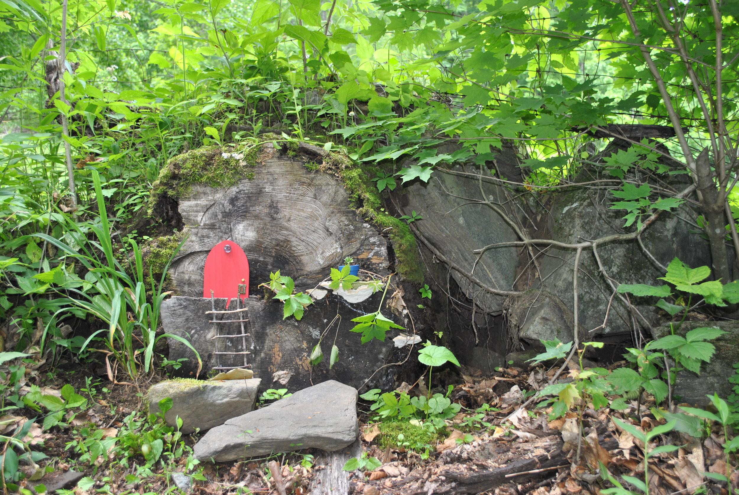 Old Mountain Road Fairy Garden