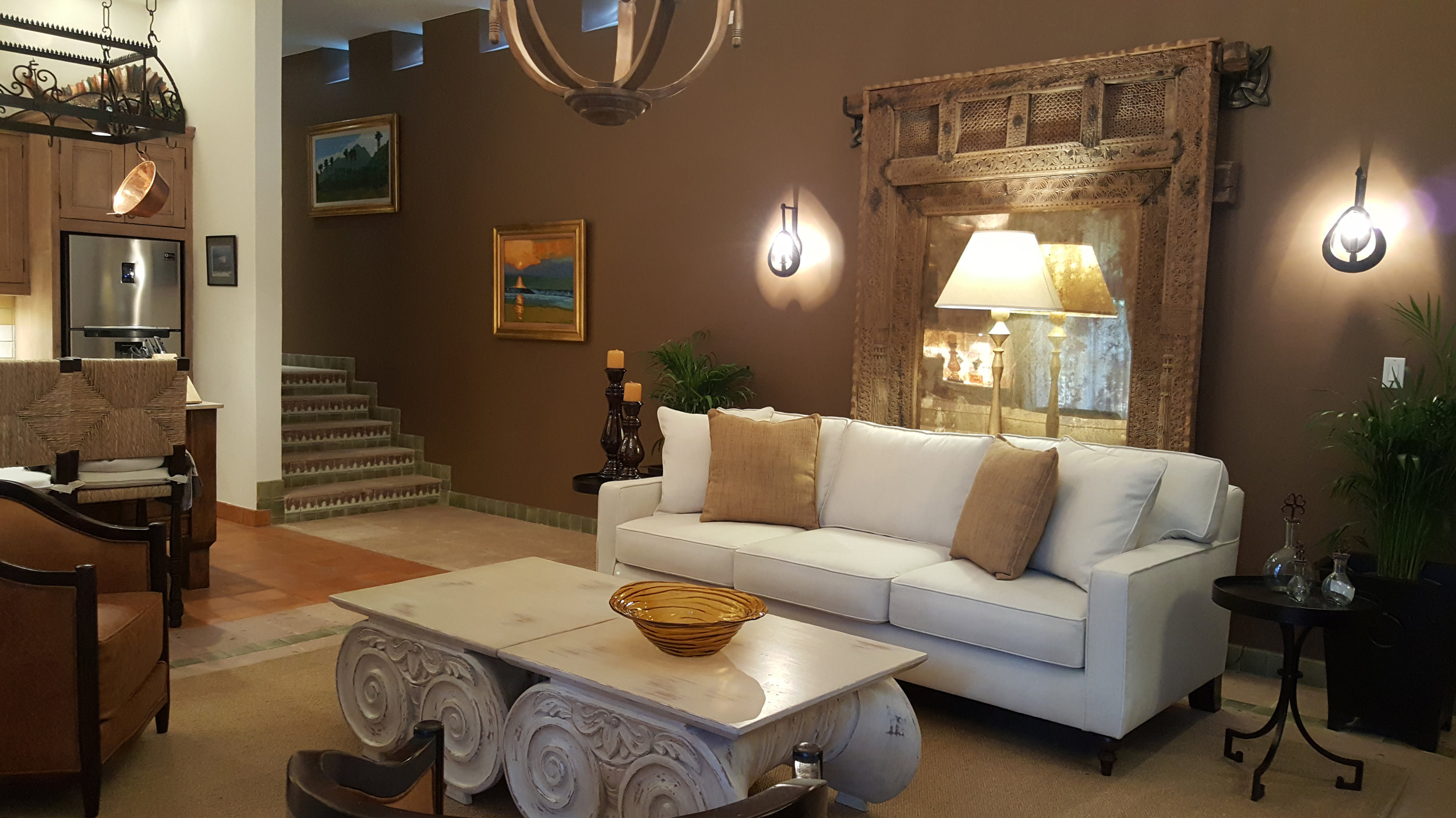 the country suite living room