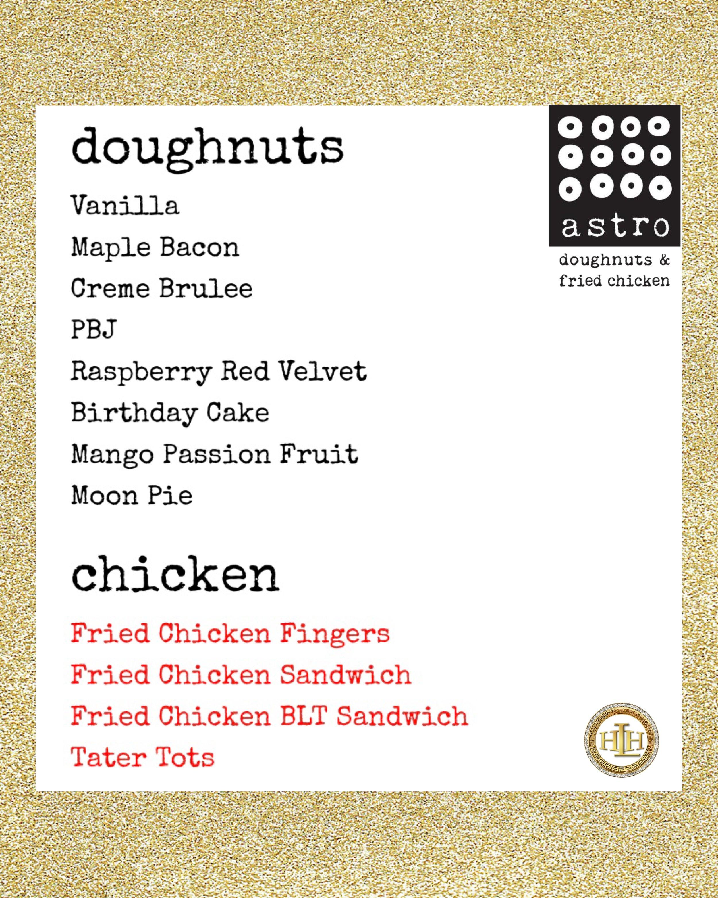 ASTRO DOUGHNUTS - FOOD TRUCK