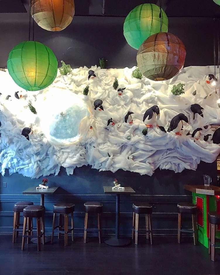 North Beach's Christmas bar pop-up -