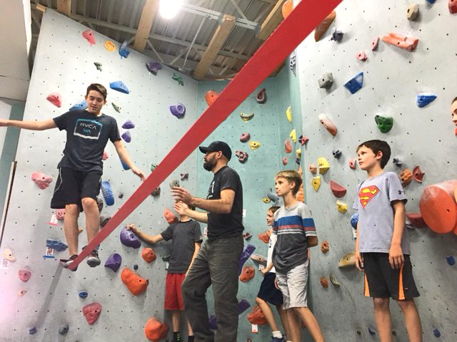 Cave Climbing is bringing slacklining to El Paso.  Ask us about setting up our slackline for part of your event for a fun and unique experience with a balancing challenge that is beloved around the world!
