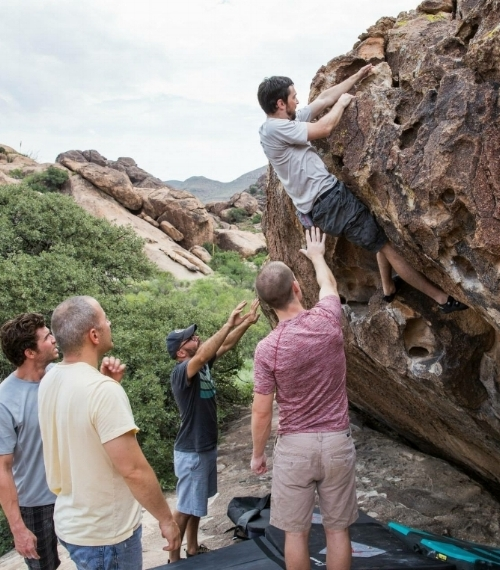 Learn more about the amazing  Hueco Tanks , a place we have tremendous respect for.