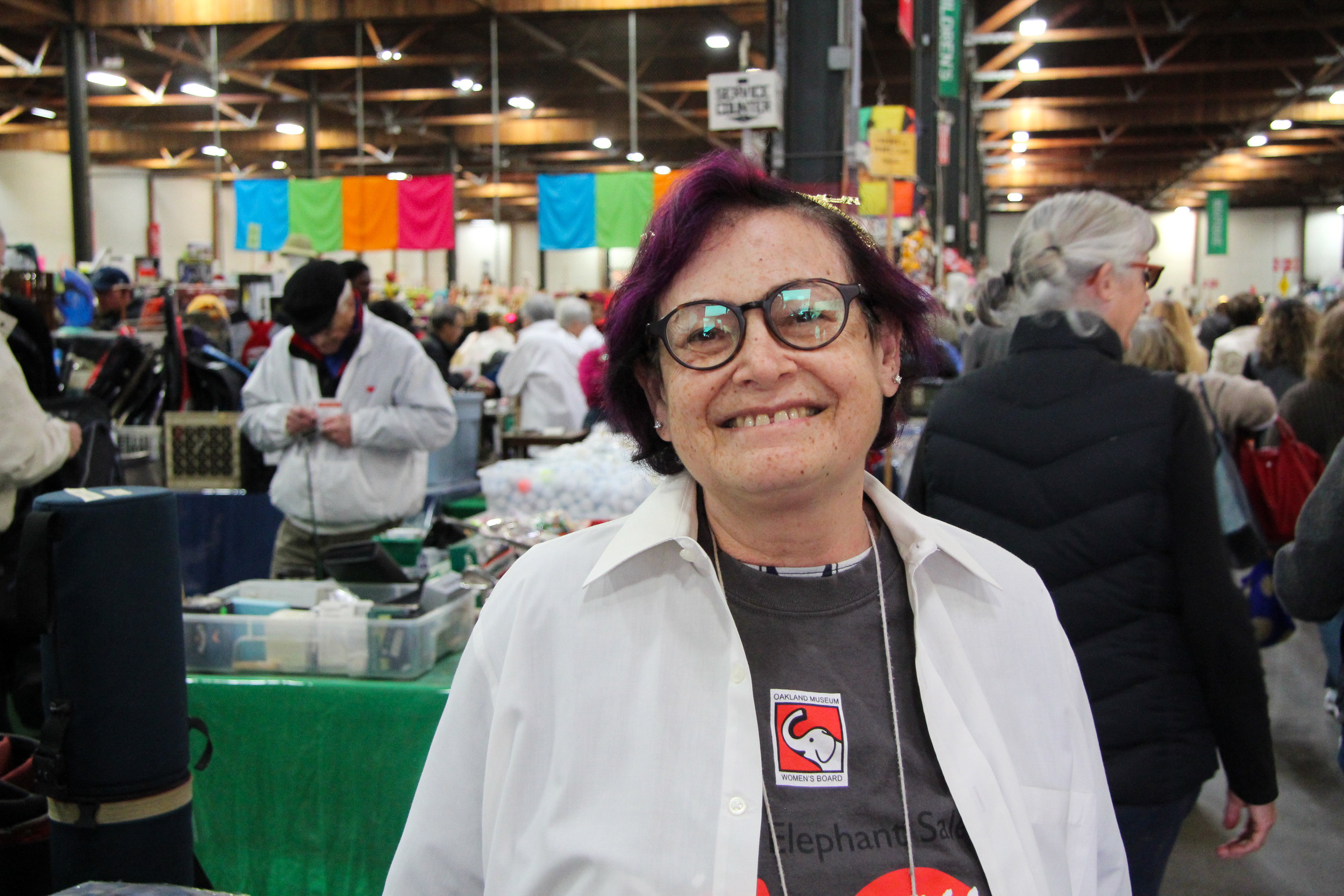 Joanne has been volunteering with the White Elephant Sale since 2015. She works in Bric-a-Brac.