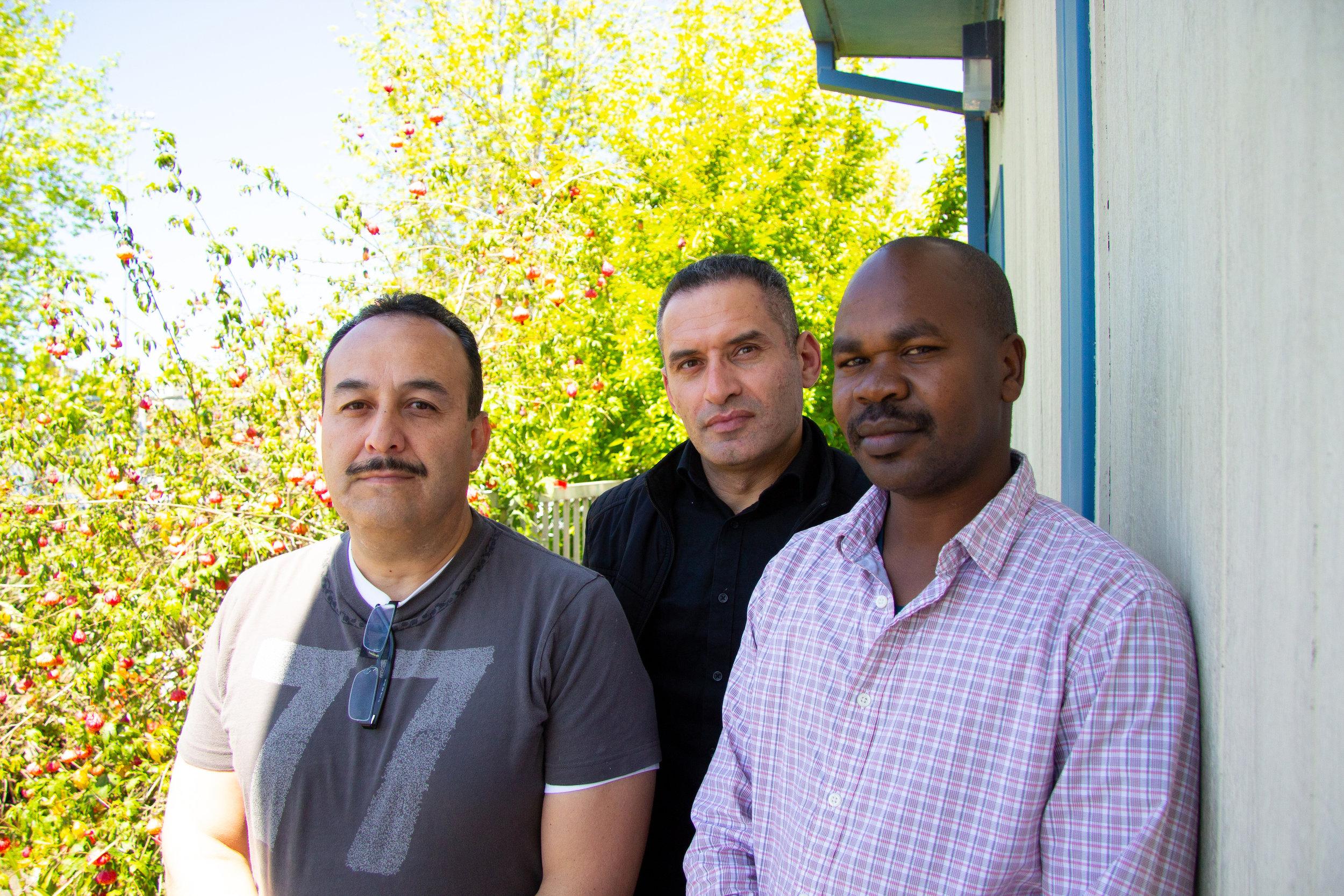 Luis Hernandez, Alzubair Emam & Ghani Moussaoui