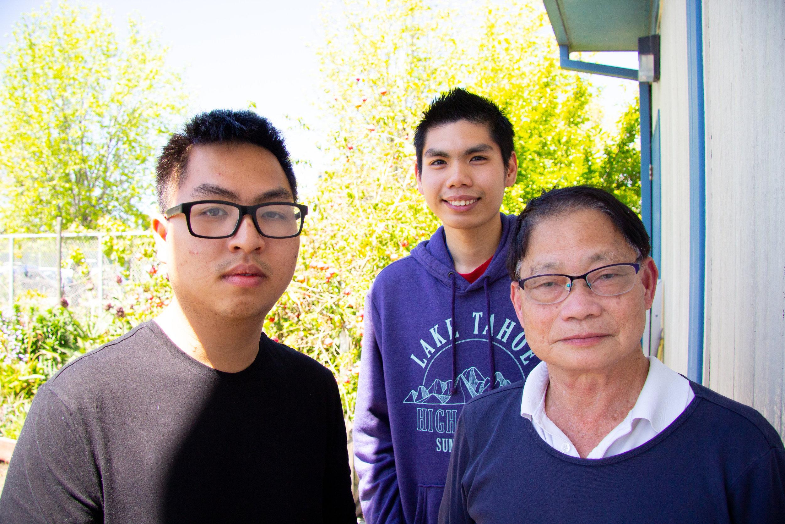 Rick Nguyen, Tran Chan & Di Xian Liu