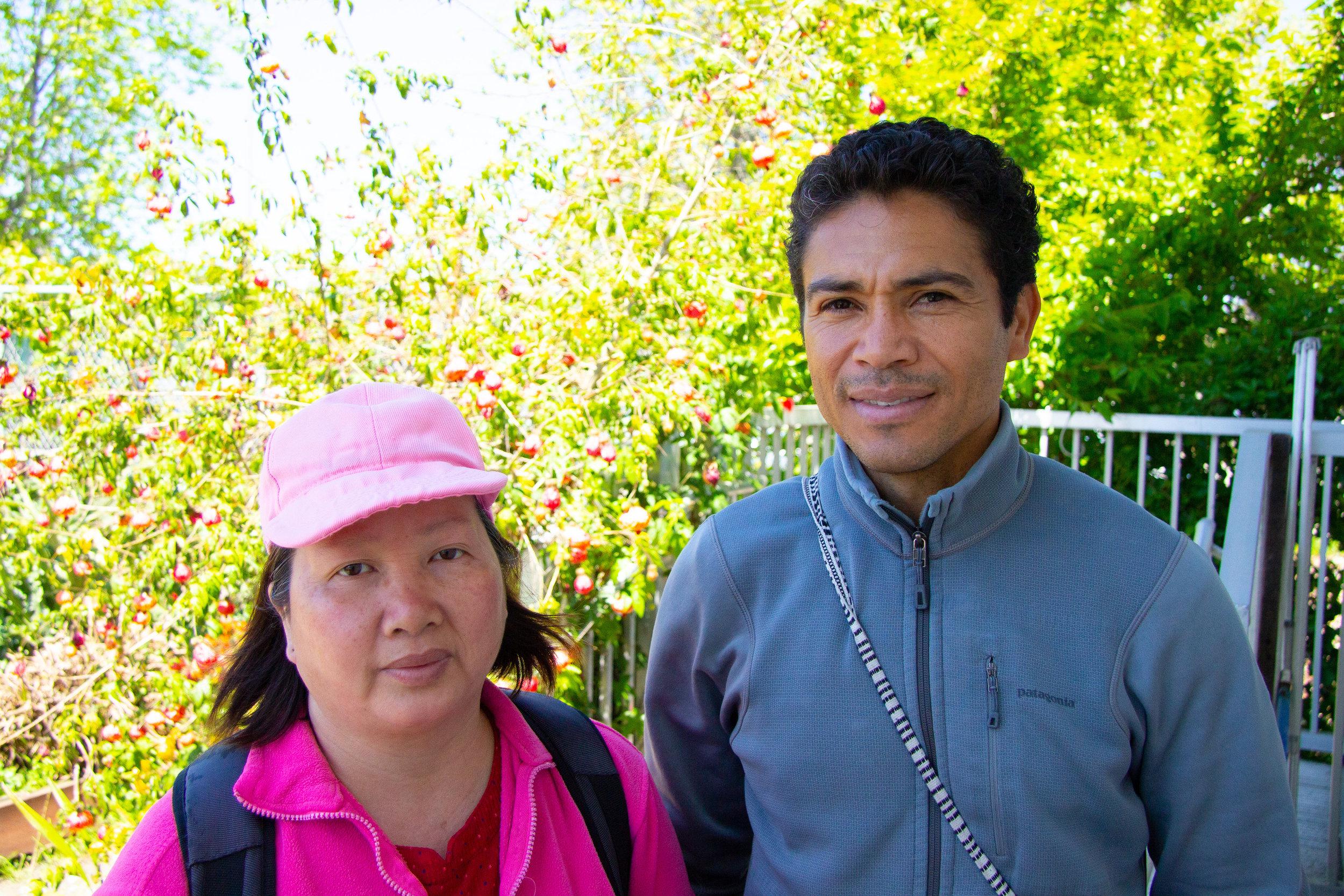 Yong Lian Teng & Edwin Tenorio