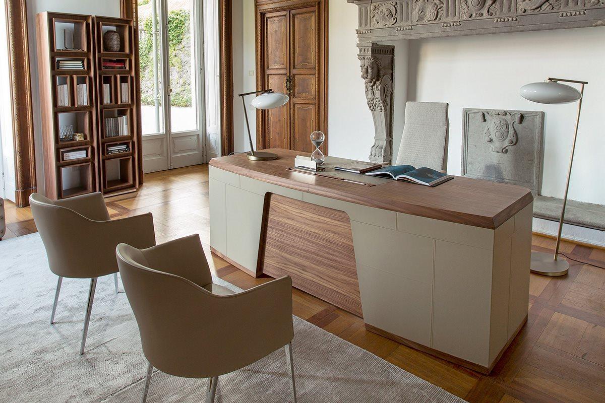 4_Письменный стол в кабинет Porada Flavio il Tempo Киев.jpg