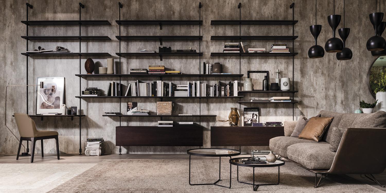 1_Библиотека для гостинной Home Cattelan il Tempo Киев.jpg