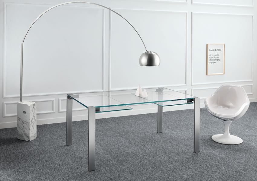1_Стол стеклянный на кухню Италия Livigstone Tonelli il Tempo Киев.jpg