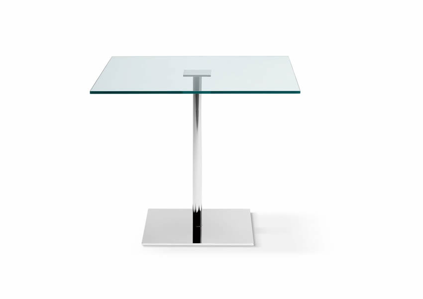 11_Стол стеклянный квадратный на кухню Италия Farniente Tonelli il Tempo Киев.jpg