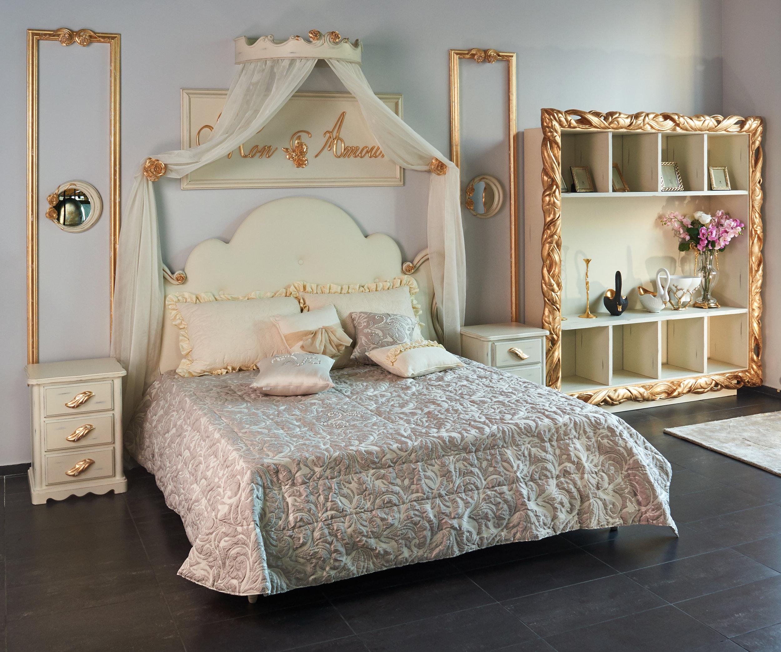 Кровать в комплекте с балдахином Bitossi  Mon Amour..jpg