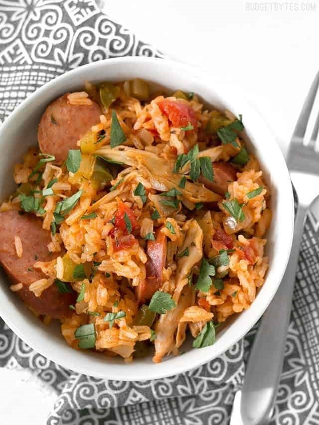 Slow Cooker Jambalaya -