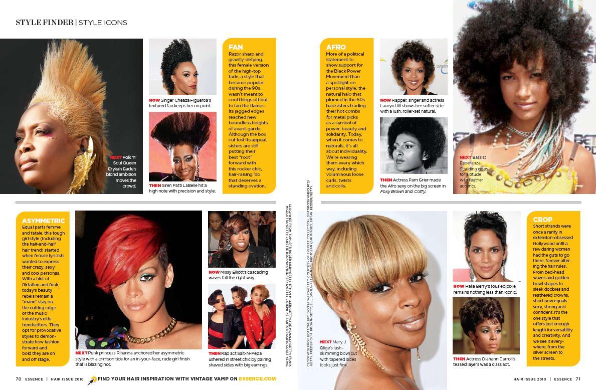 ESSENCE HAIR MAGAZINE