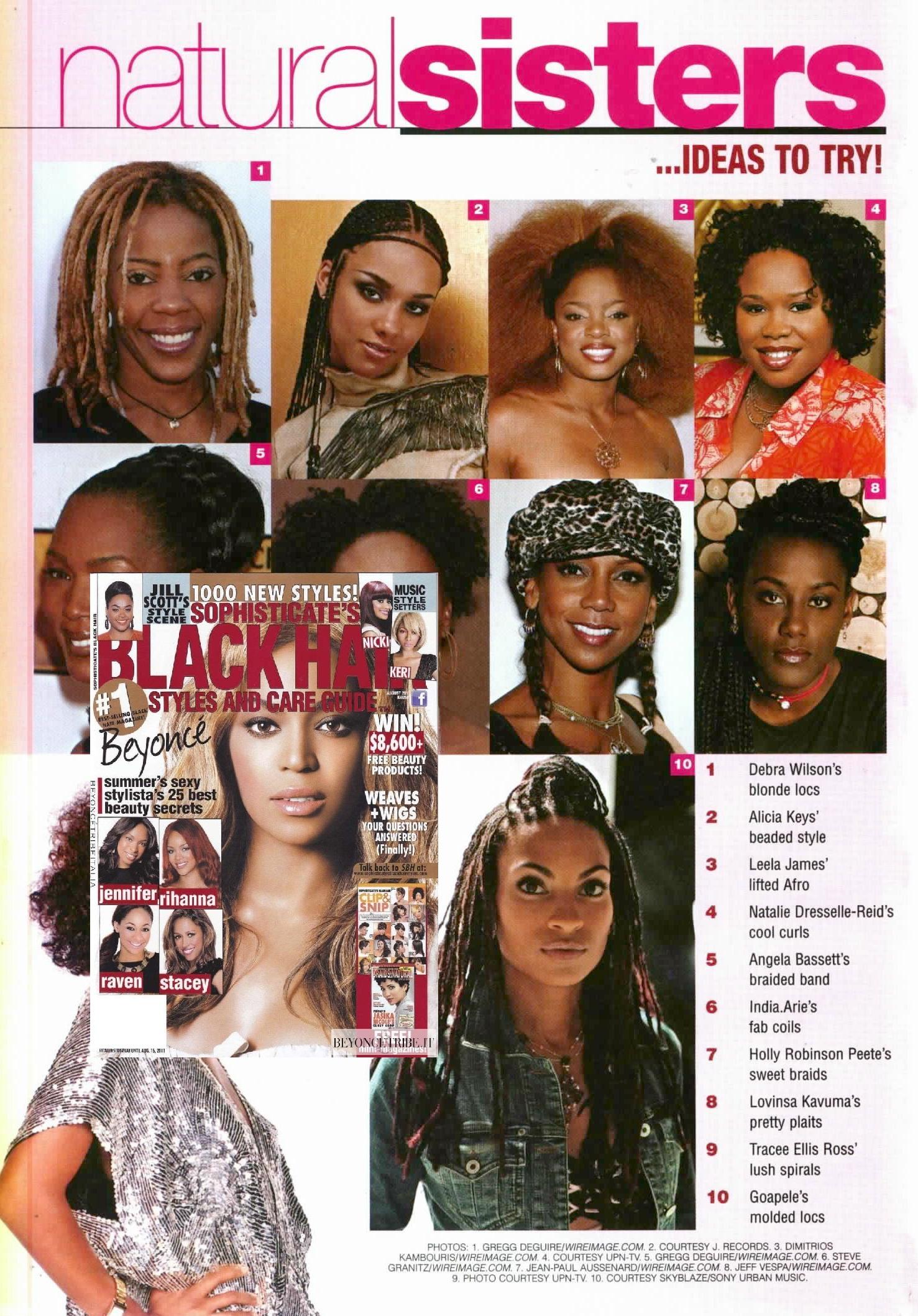 SOPHISTICATE'S BLACK HAIR