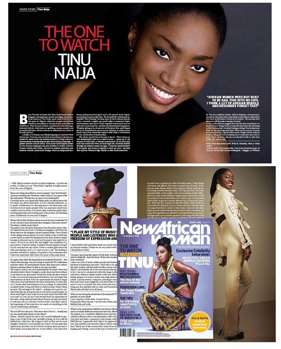 NEW AFRICAN WOMEN