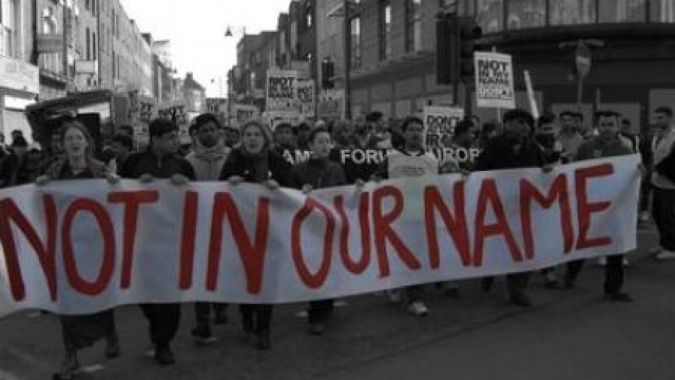 NOT IN OUR NAME