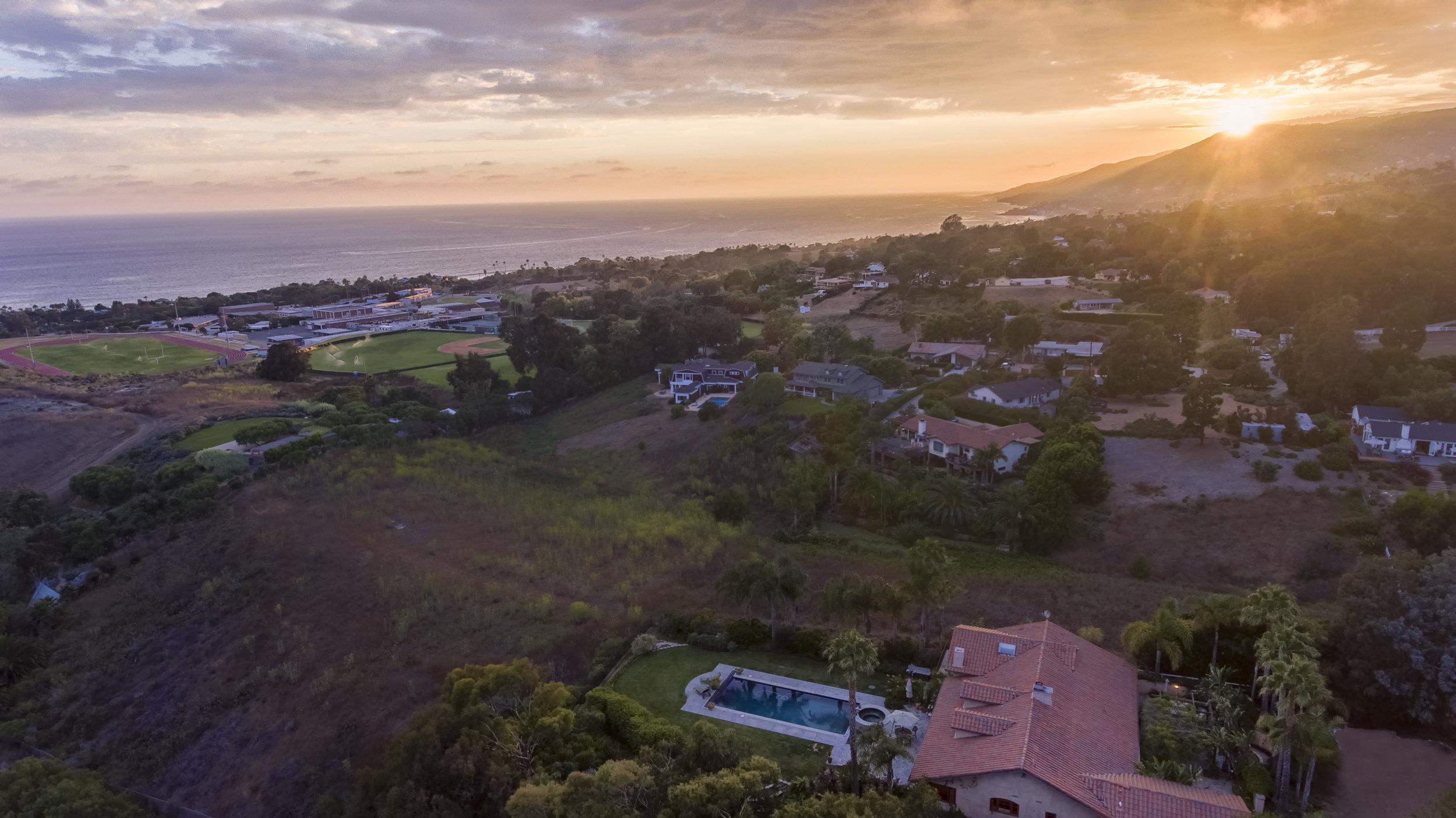 006 aerial sunset 29660 Harvester Road Malibu For Sale The Malibu Life Team Luxury Real Estate.jpg