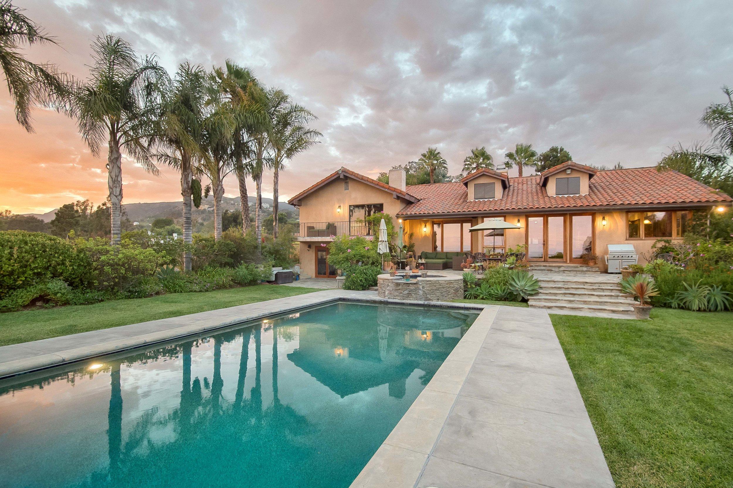 029 twilight pool 29660 Harvester Road Malibu For Sale The Malibu Life Team Luxury Real Estate.jpg