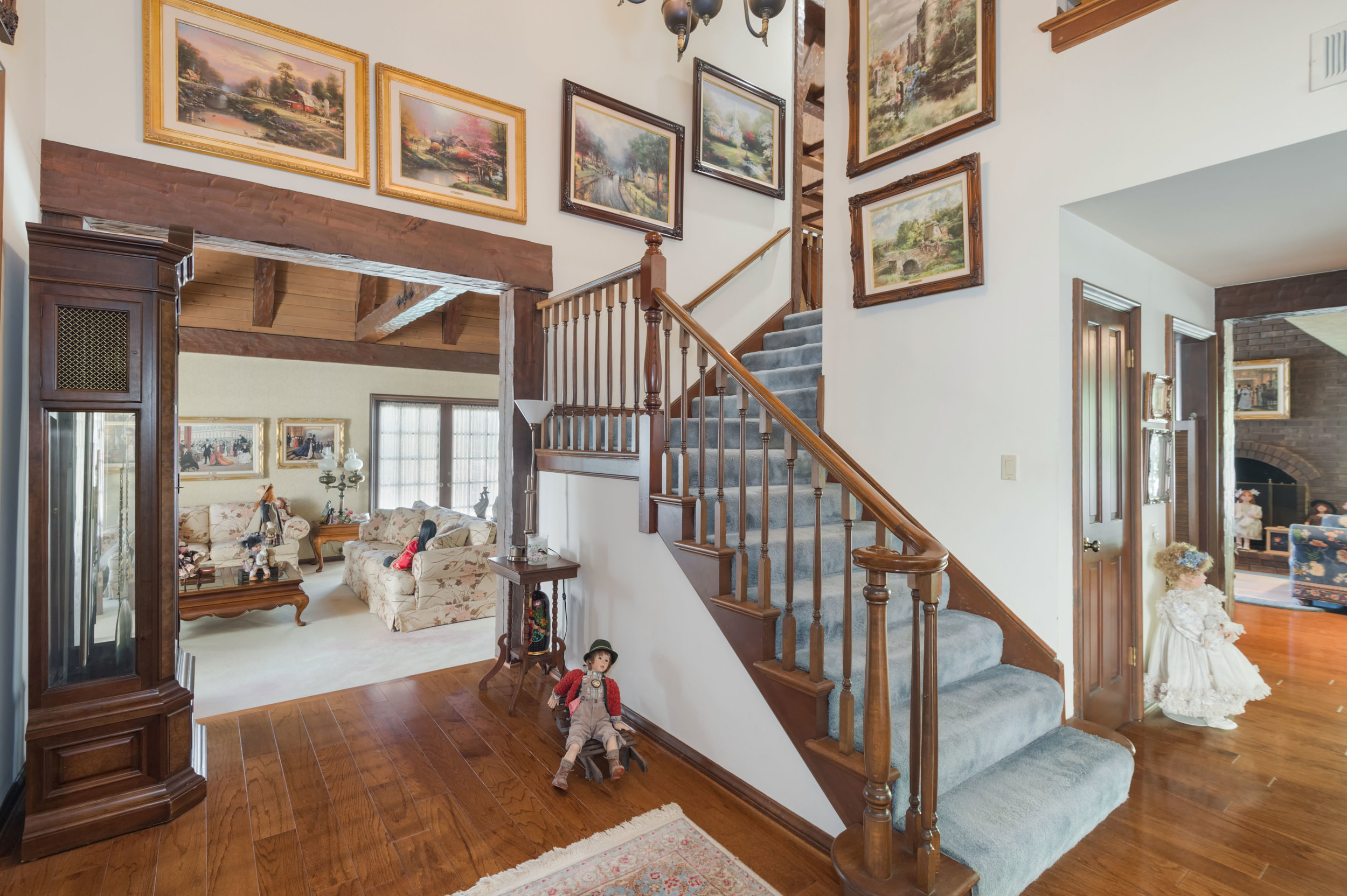 002 Stairs 3191 Toppington Drive Beverly Hills For Sale Lease The Malibu Life Team Luxury Real Estate.jpg