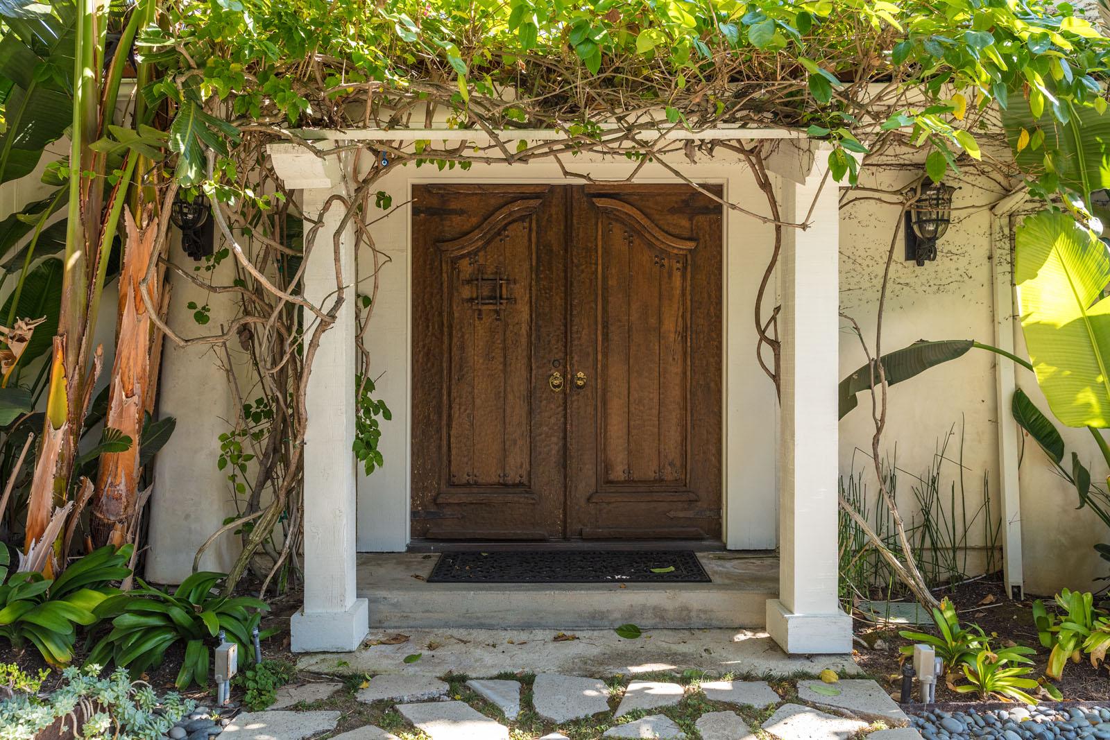 008 Front Door 1712 Manzanita Park Avenue Malibu For Sale Lease The Malibu Life Team Luxury Real Estate.jpg