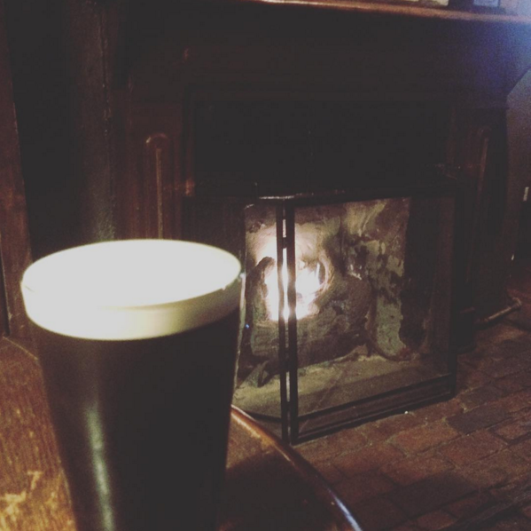 Perfect pint of Guinness at Abe's On Lincoln