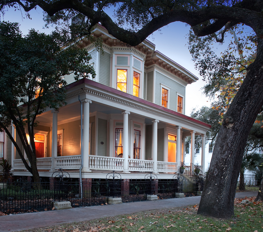 Top Bead and Breakfast Savannah, Printmakers Inn Side house.jpg