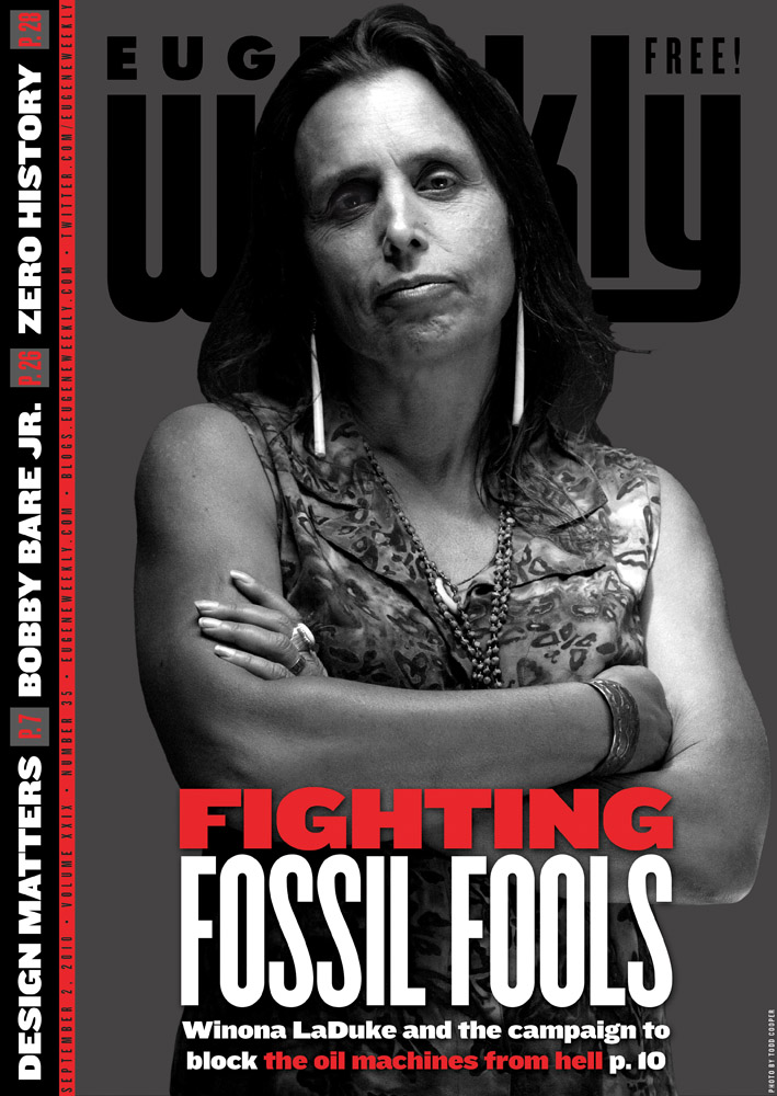 COVER STORY     Rage Against the Machines : Giant loads of dirty fossil fuel equipment are going up the Columbia River  BY CAMILLA MORTENSEN  Photo credit  Todd Cooper