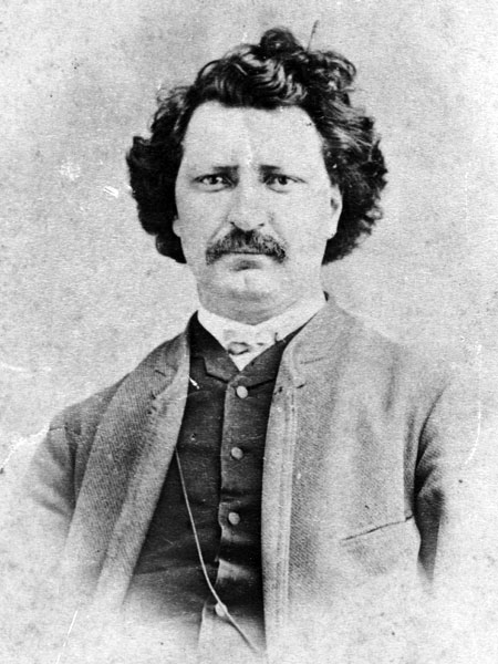 """Louis Riel French Roast - """"I have nothing but my heart to give and I have already given it long ago to my country""""""""My people will sleep for one hundred years, but when they awake, it will be the artists who give them their spirit back."""