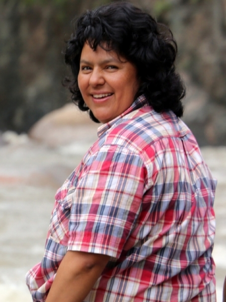 """WaterProtectors Blend - """"Giving our lives in various ways for the protection of the rivers is giving our lives for the well-being of humanity and of this planet … Our Mother Earth – militarized, fenced-in, poisoned, a place where basic rights are systematically violated – demands that we take action."""" – Berta Isabel Cáceres Flores, Civic Council of Grassroots and Indigenous Organizations of Honduras (COPINH)"""