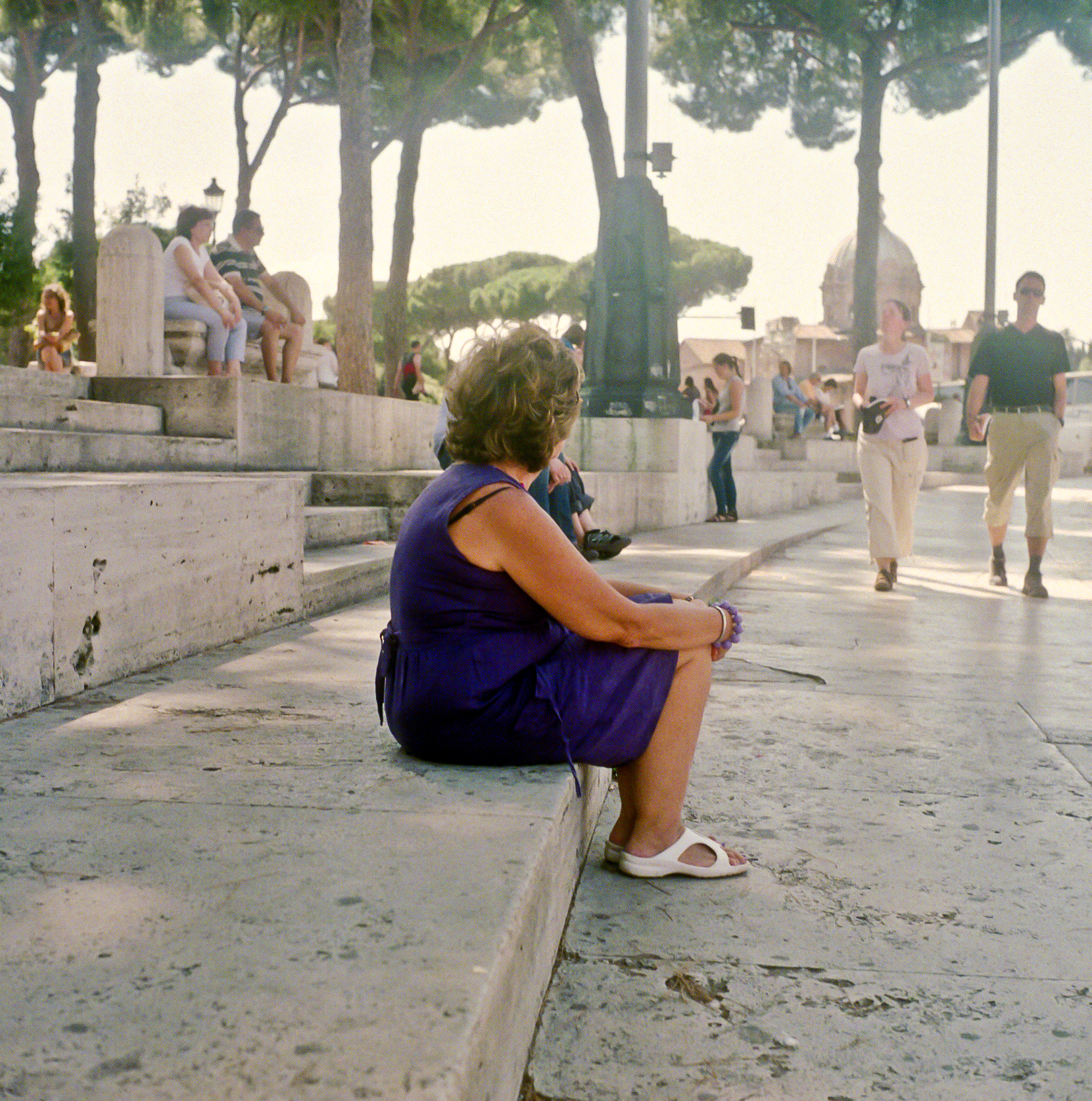 Woman Sitting in Rome,Italy.jpg