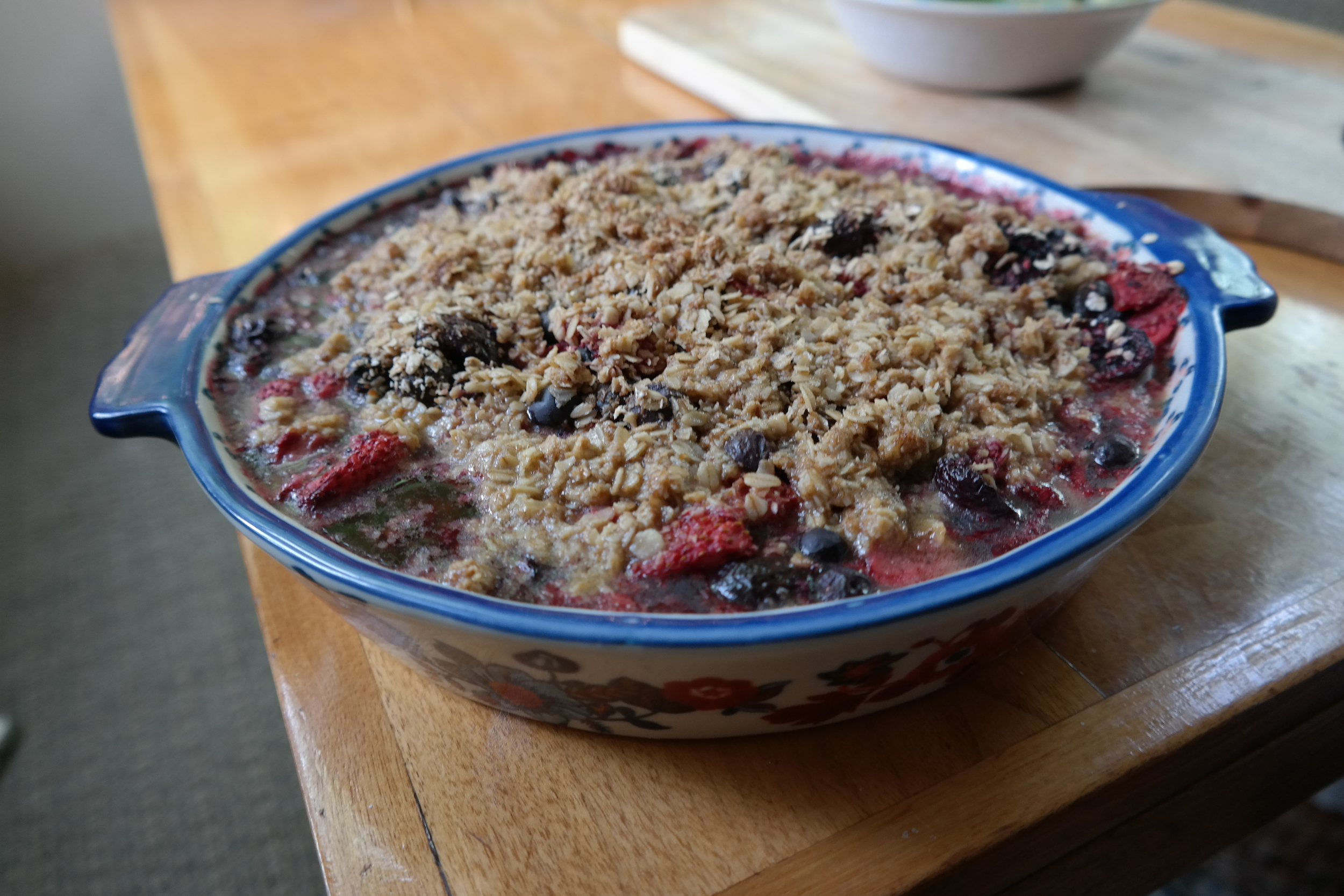 Simple Summer Berry Cobbler, hot or cold this is the perfect summer treat