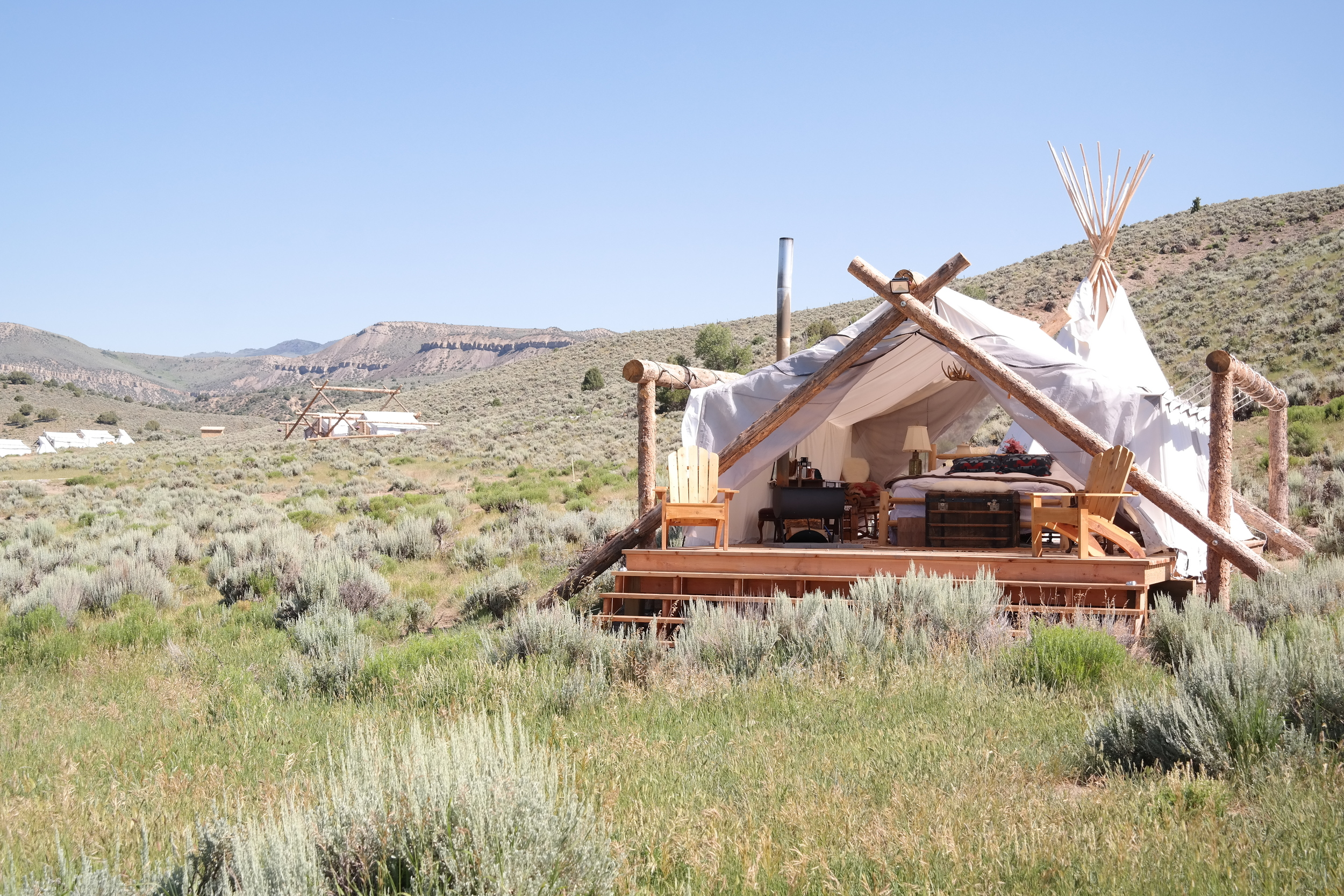 Intrepid Hearts Glamping in Colorado with Collective Retreats