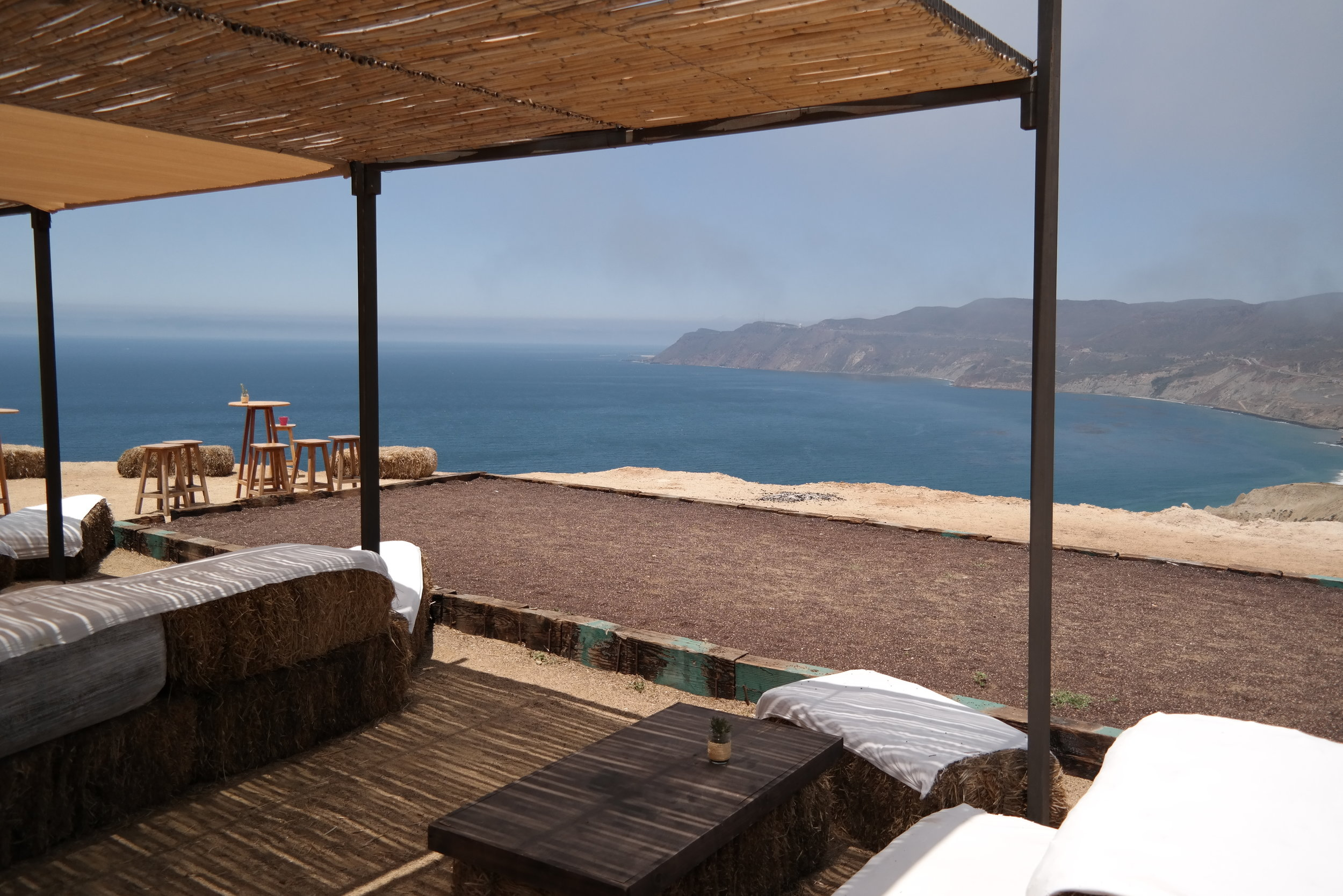 The most insane views of the Baja California Coastline from Cuatro Cuatros Ensenada Mexico