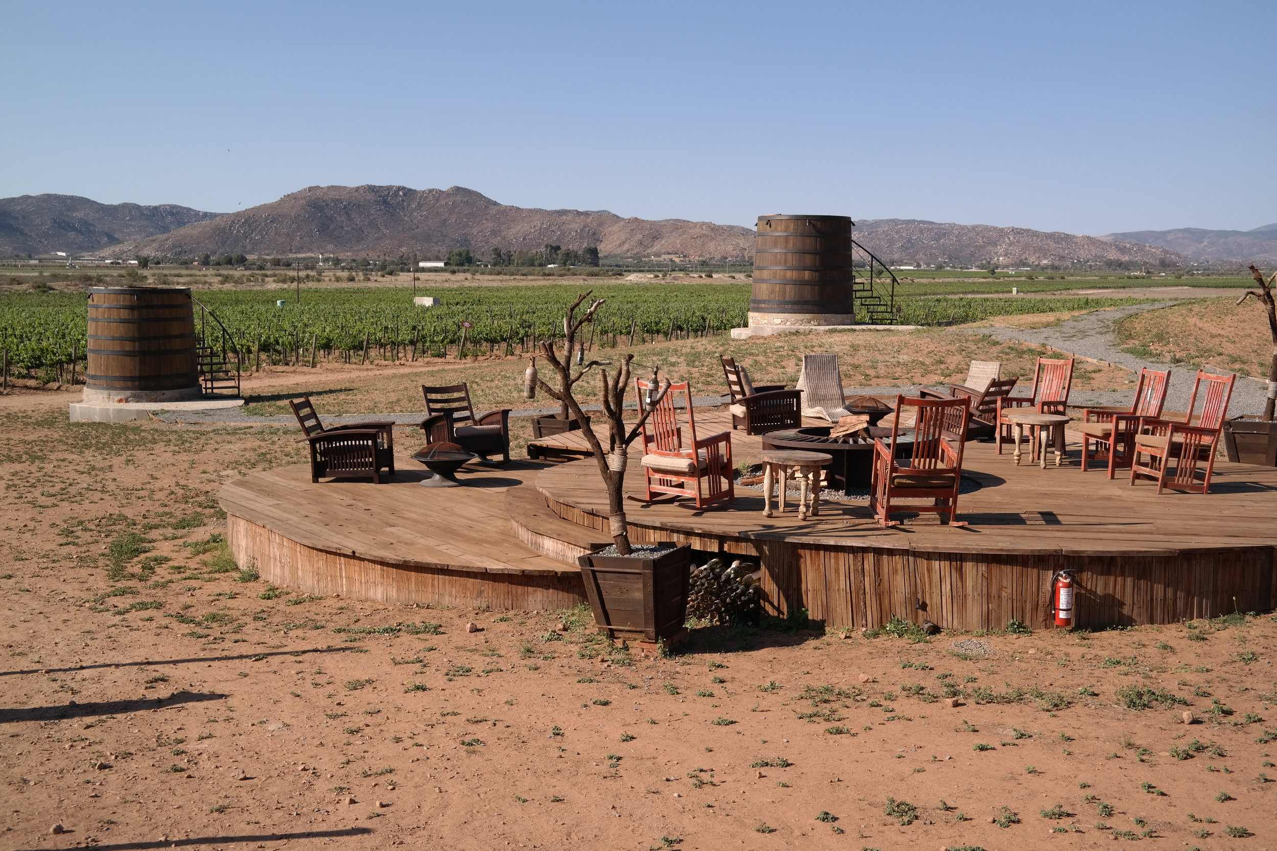 Actually perfect hangouts for wine with friends.