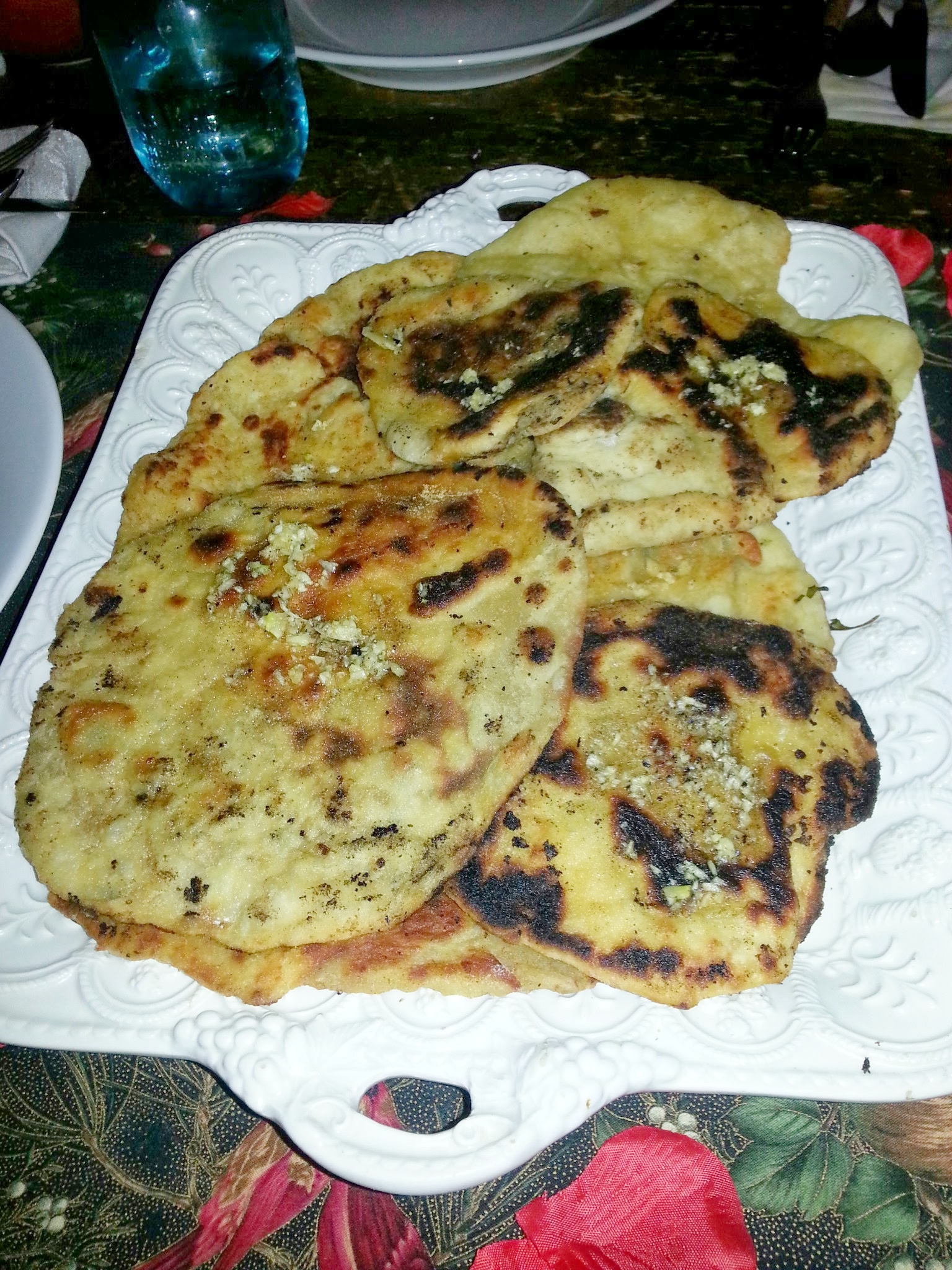 Garlic Beer Naan