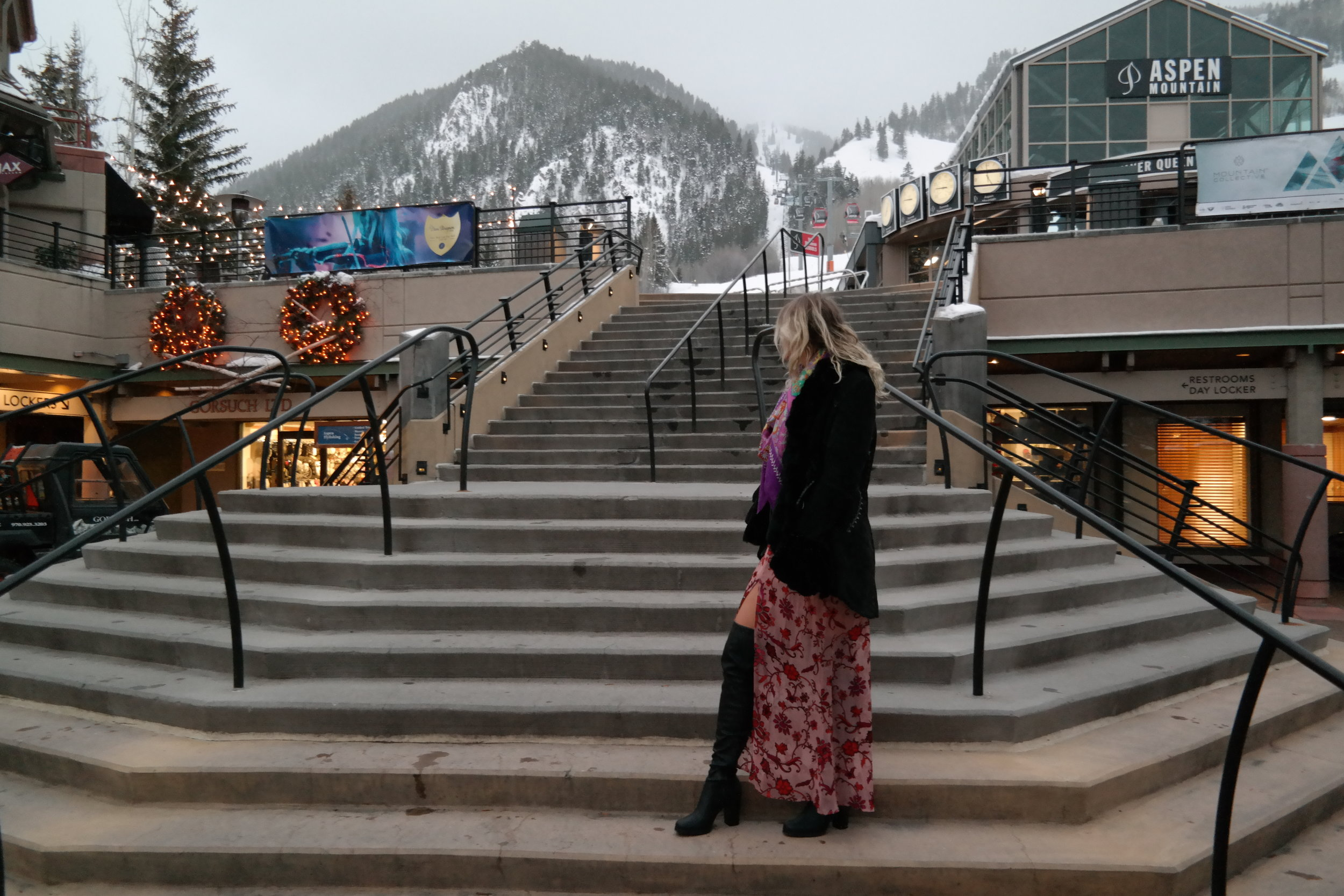 Christmas Eve at Aspen Mountain