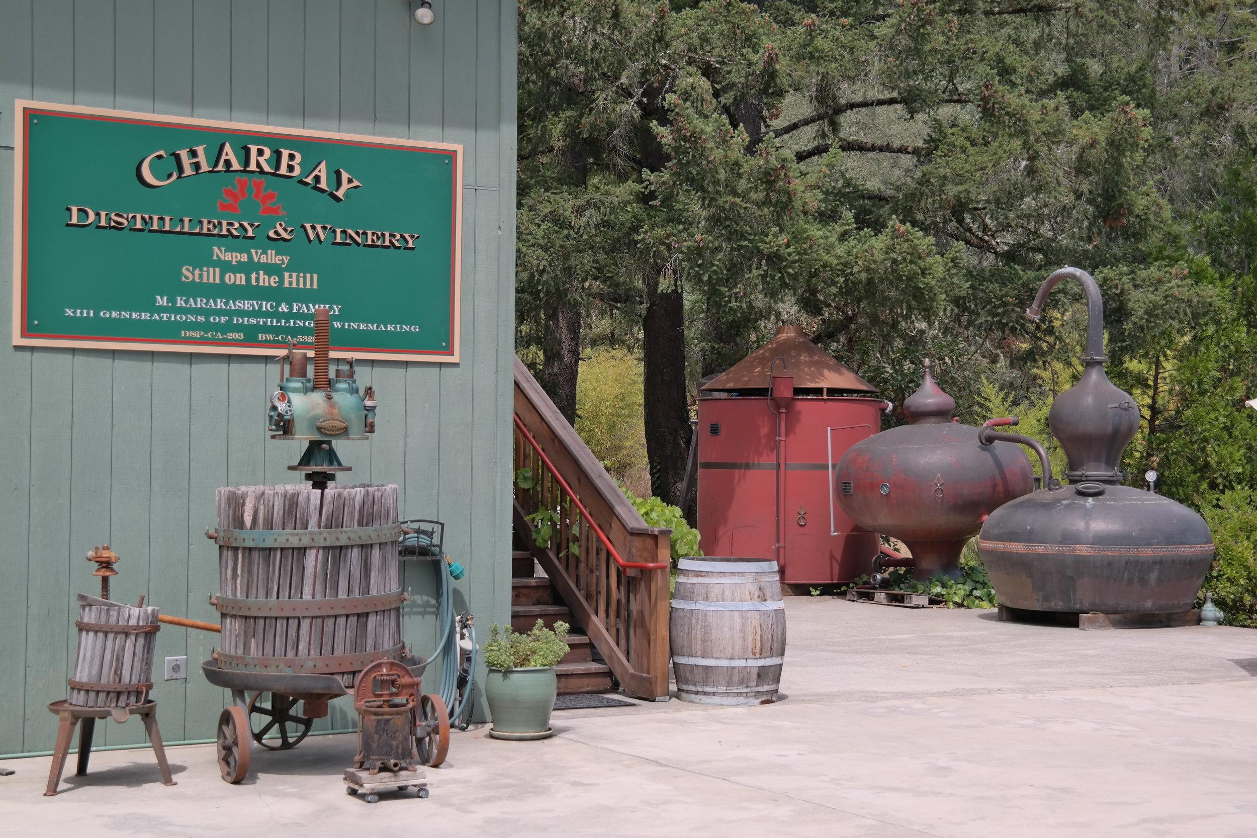 Charbay Distillery Napa