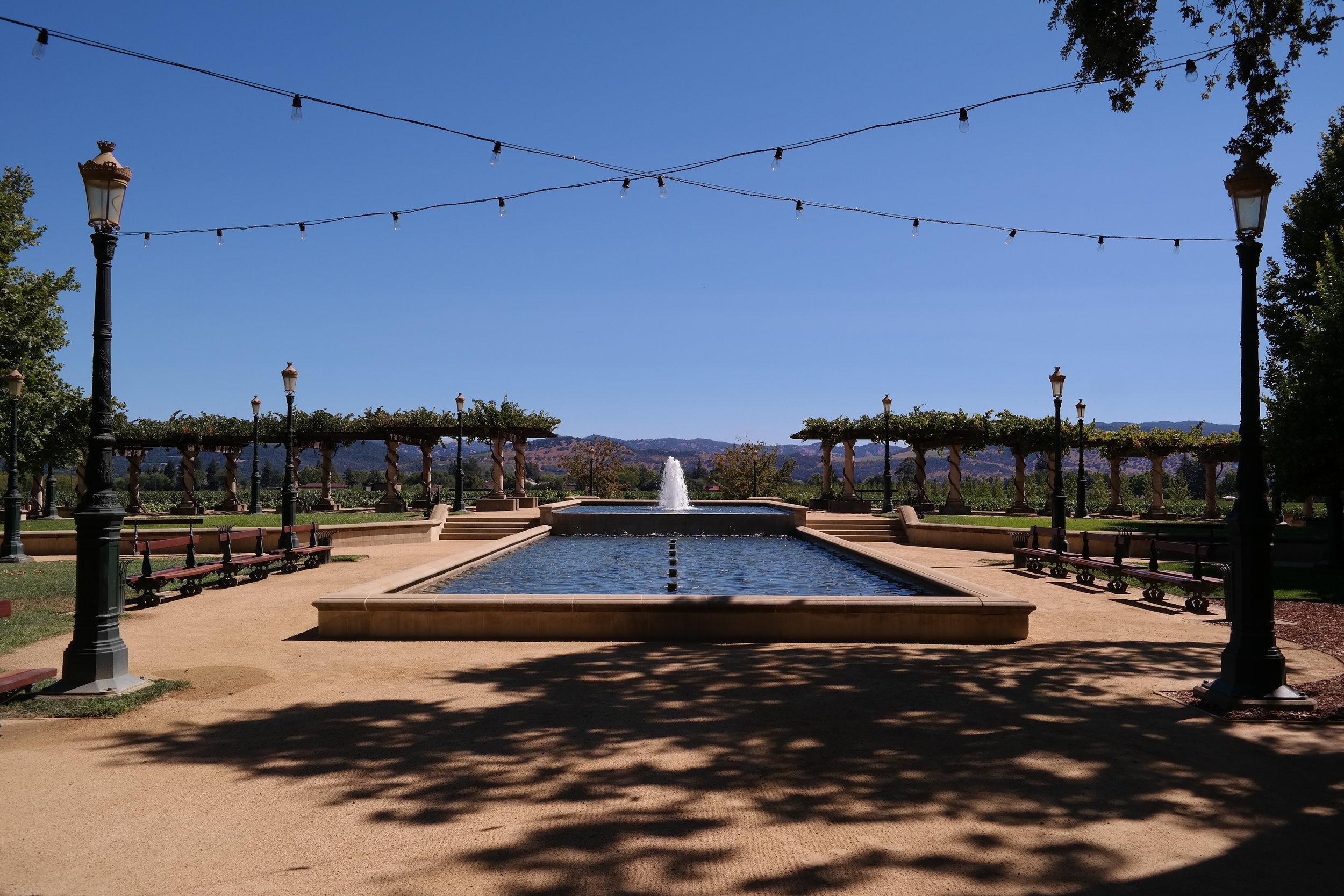Inglenook Francis Coppola's vineyard
