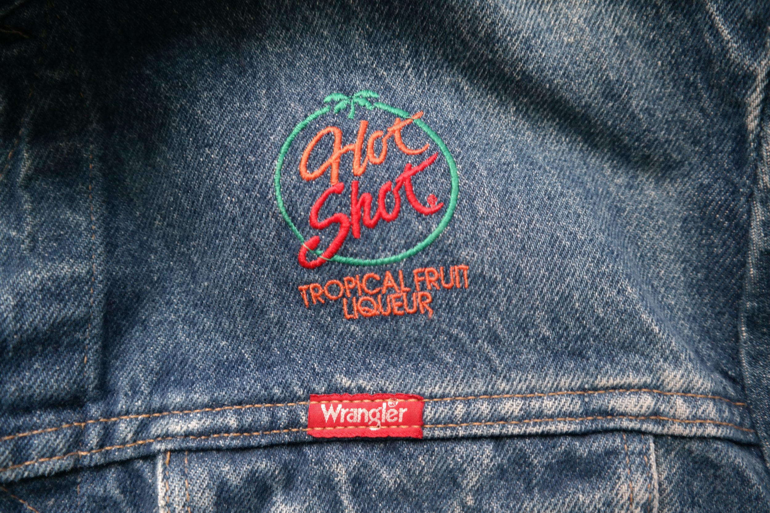 Obsessed with this promotional embroidery find