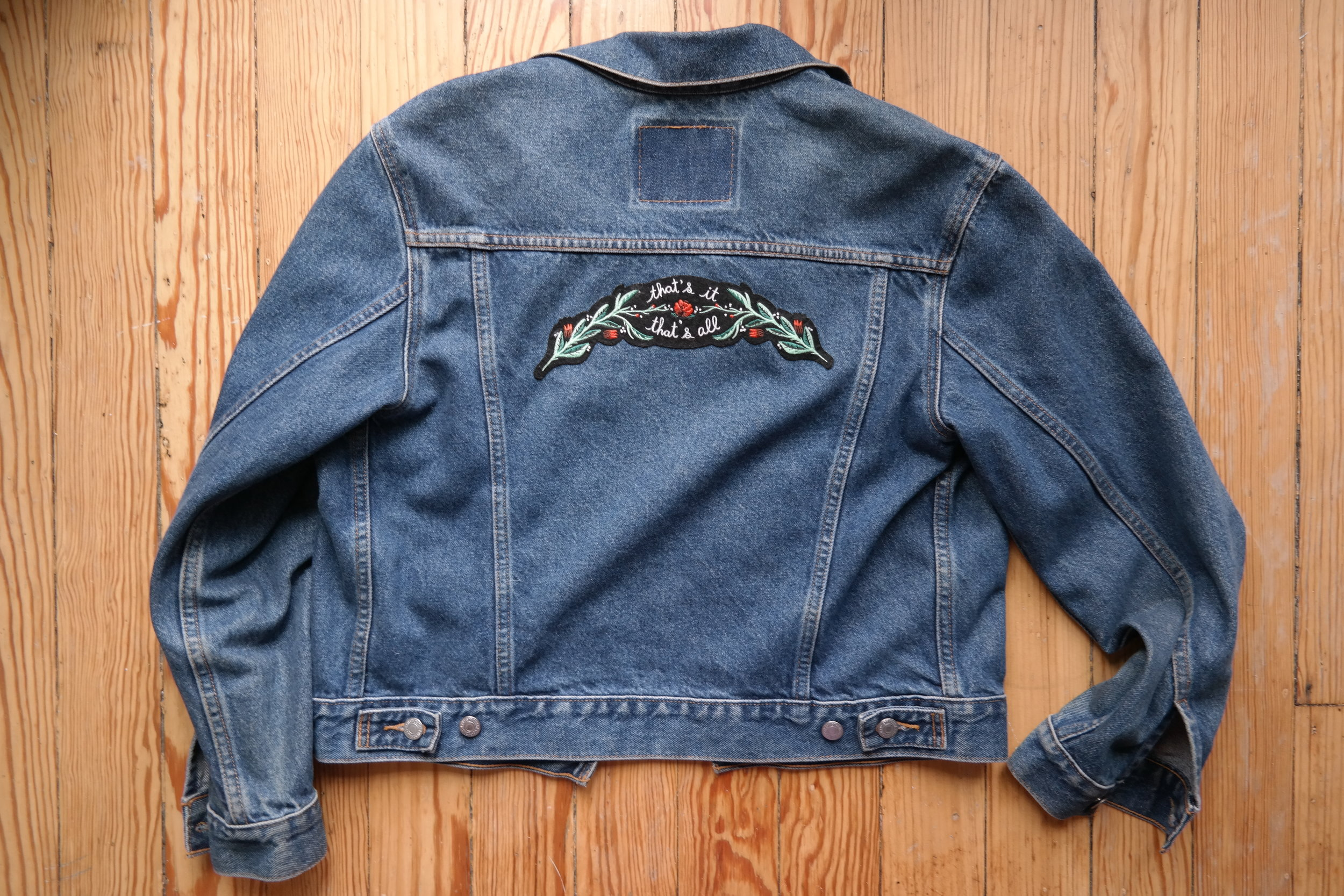Vintage Levis and Patches