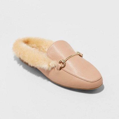 Cozy Backless Loafer