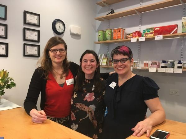 Bluebird Owners: Elaine, Jennifer, and Sonya