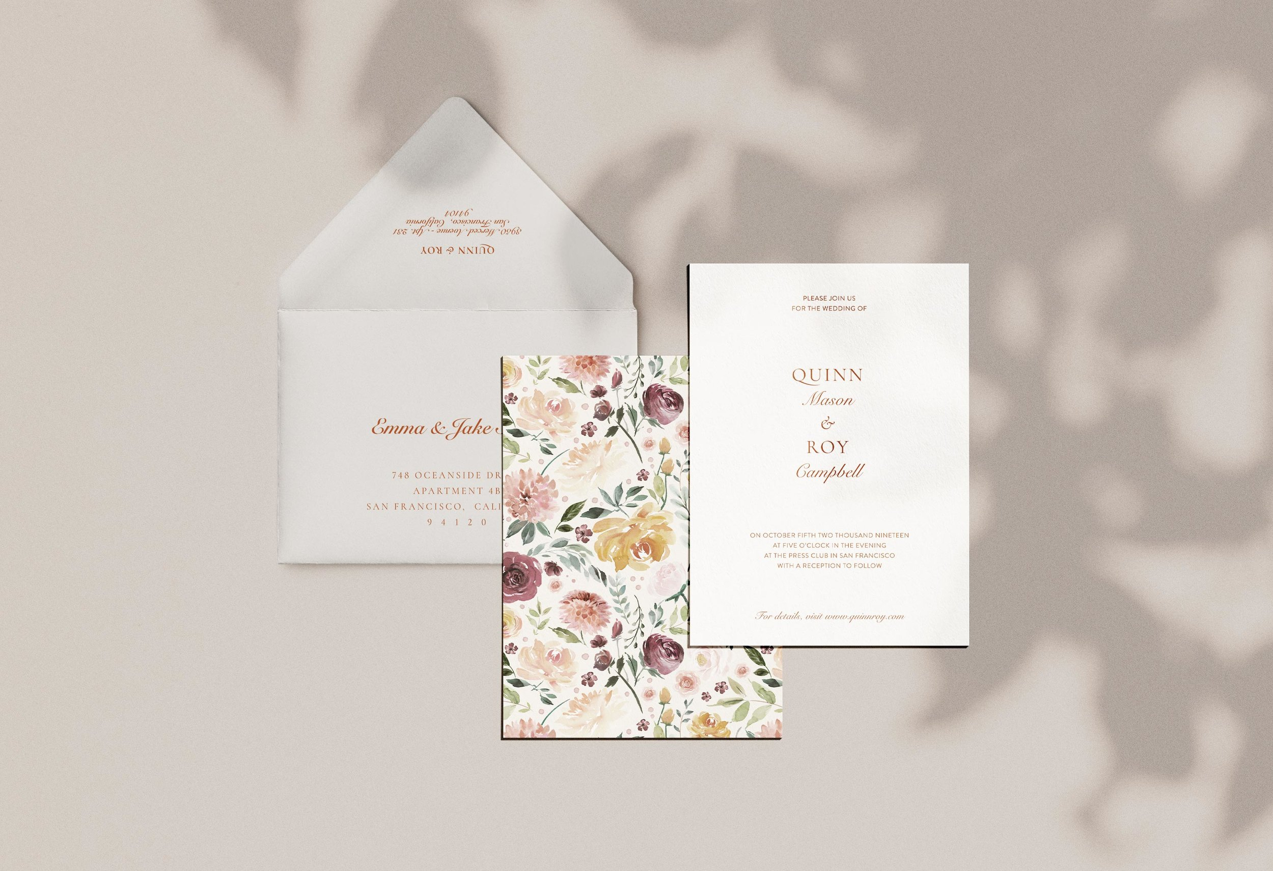 Carta Plena Quinn Suite Cards